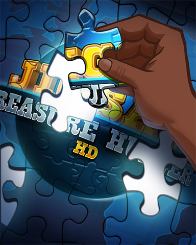 Puzzling It Out Badge - Jigsaw Treasure Hunter HD