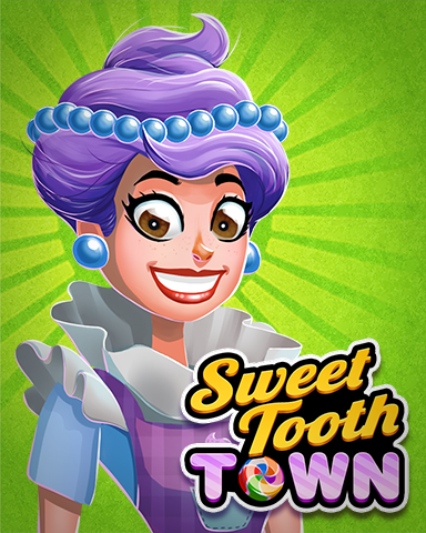 Sweet Antoinette Badge - Sweet Tooth Town