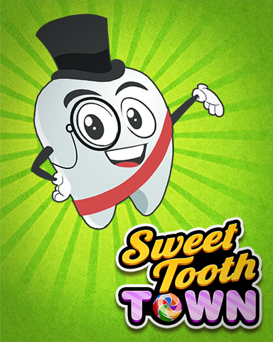 Mayor Toothy Badge - Sweet Tooth Town