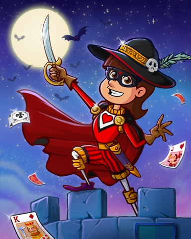 Swashbuckling Jack Badge - Payday Freecell HD