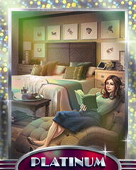 Taking A Break Platinum Badge - Claire Hart: Secret In The Shadows
