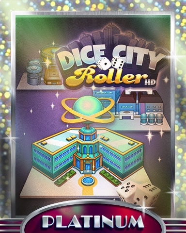 City Factory Platinum Badge - Dice City Roller HD