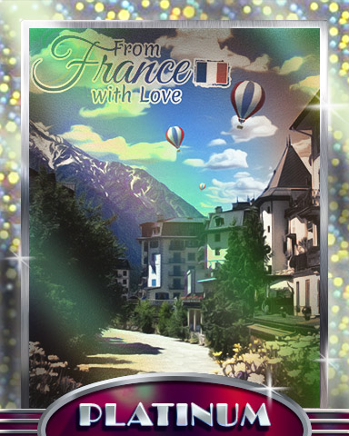 Mountain Village Platinum Badge - From France With Love