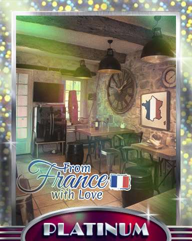 French Bistro Platinum Badge - From France With Love