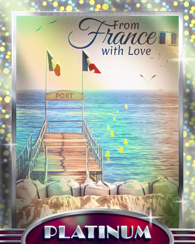 Beach Life Platinum Badge - From France With Love