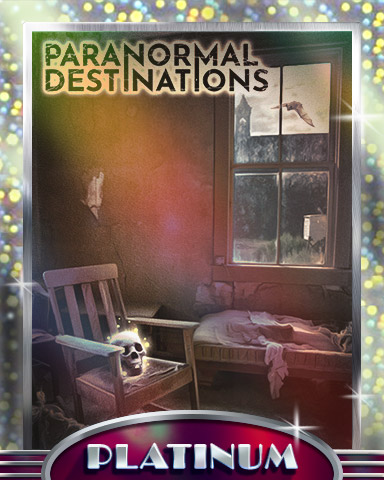 Dusty Room Platinum Badge - Paranormal Destinations