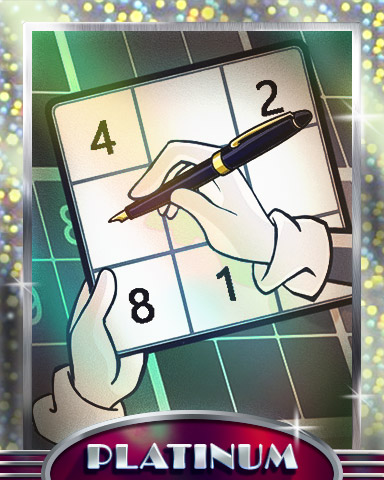 Finding The Solution Platinum Badge - Pogo Daily Sudoku