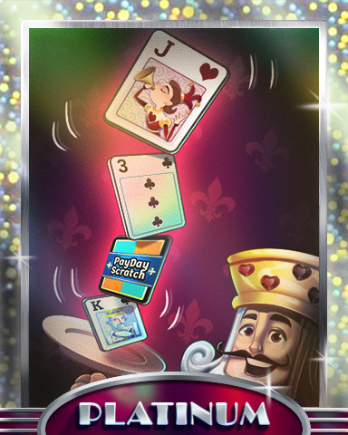 King Of Balance Platinum Badge - Payday Freecell HD