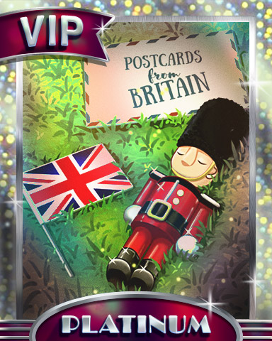 Royal Souvenirs Platinum Badge - Postcards From Britain