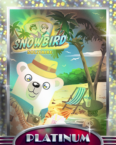 Bearnard's Break Platinum Badge - Snowbird Solitaire