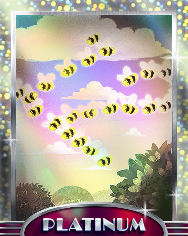 Buzzin Dozen Platinum Badge - Tumble Bees HD