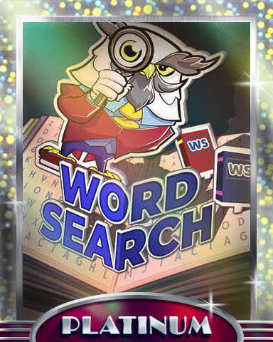 Pop-Up Words Platinum Badge - Word Search Daily HD