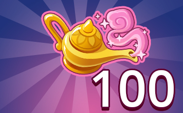 Magic Lamp IV Badge - Pogo Daily Sudoku