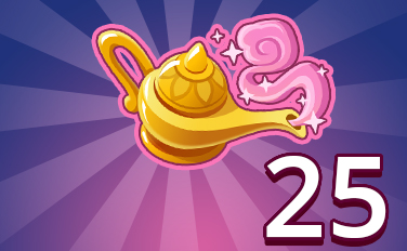 Magic Lamp II Badge - Pogo Daily Sudoku