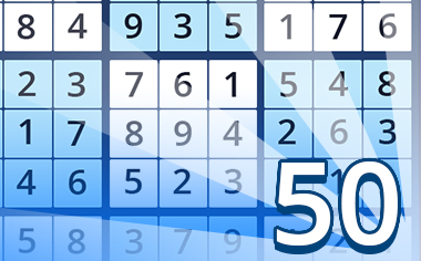 Puzzles III Badge - Pogo Daily Sudoku
