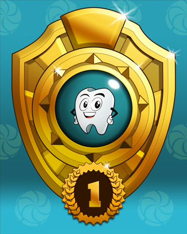 Mayoral Race Lap 1 Badge - Sweet Tooth Town