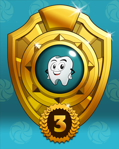 Mayoral Race Lap 3 Badge - Sweet Tooth Town