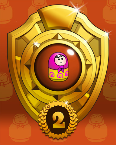 Doll Dash Lap 2 Badge - Trizzle