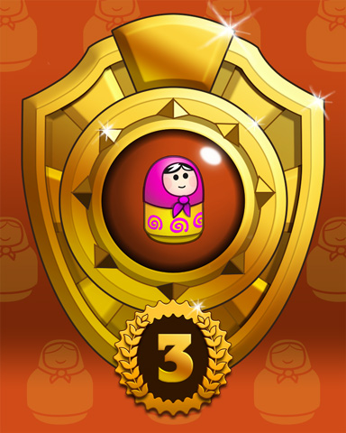 Doll Dash Lap 3 Badge - Trizzle