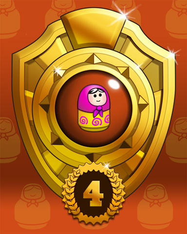 Doll Dash Lap 4 Badge - Trizzle