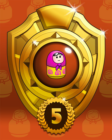 Doll Dash Lap 5 Badge - Trizzle