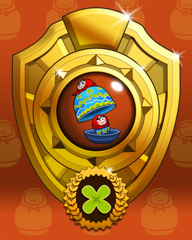 Pogo Trizzle Trek Victory Badge