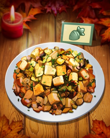 Thanksgiving Stuffing Badge - Word Whomp HD