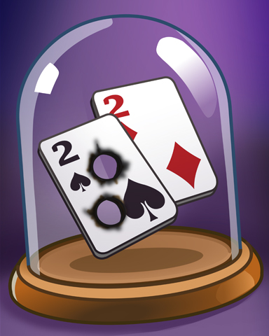 Deadly Hand Badge - Double Deuce Poker HD