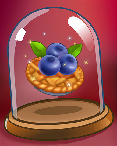 Warm Blueberry Pie Badge - Crazy Cakes 2