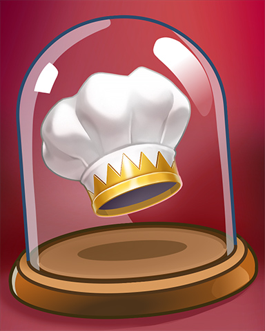 Chef Hat Badge - Crazy Cakes 2