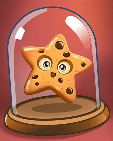 Chocolate Chip Star Badge - Cookie Connect