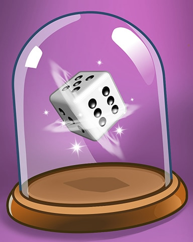 Spinning Dice Badge - Dice City Roller HD