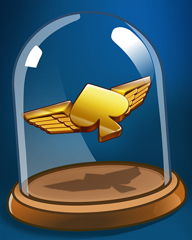 Soaring Spades Badge - First Class Solitaire HD