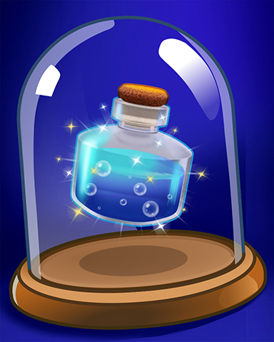 Powerful Potion Badge - Jewel Academy