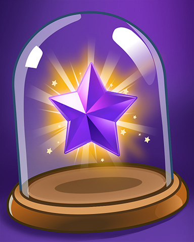 Purple Star Badge - Mahjong Sanctuary