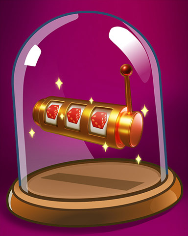 Reel Winnings Badge - MONOPOLY Slots