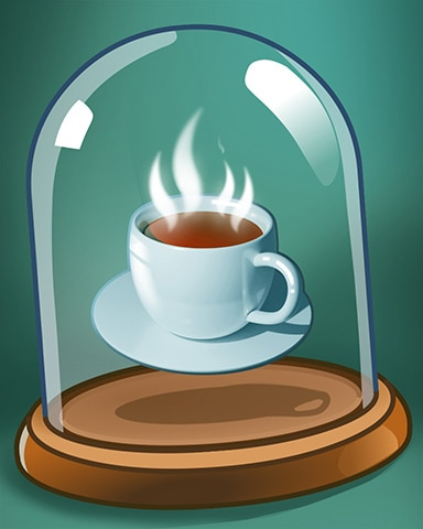 Fresh Hot Coffee Badge - Pogo Addiction Solitaire HD