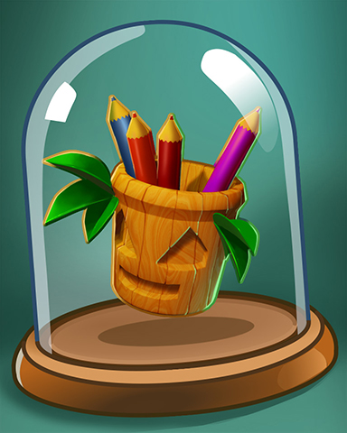 Tiki Cup Badge - Pogo Addiction Solitaire HD