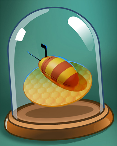 Bee Mouse Badge - Pogo Addiction Solitaire HD