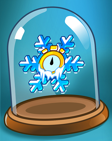 It's Snow Time! Badge - Pogo Daily Sudoku