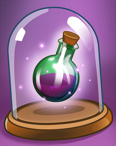 Purple Potion Badge - StoryQuest
