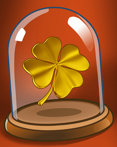 Golden Clover Badge - Trizzle
