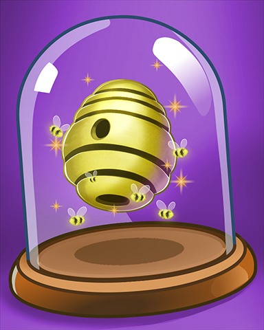 Happy Hive Badge - Tumble Bees HD