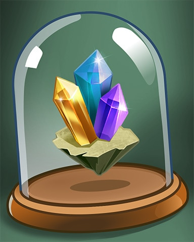 Gem Cluster Badge - Tri-Peaks Solitaire HD