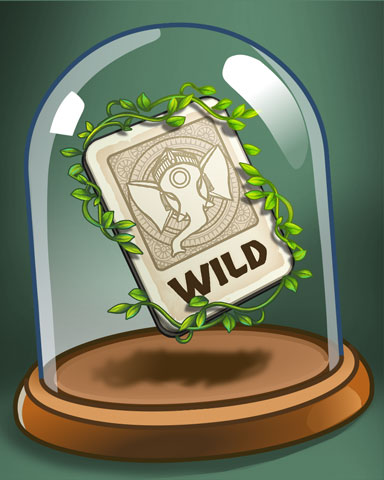 Wild Wild Card Badge - Tri-Peaks Solitaire HD