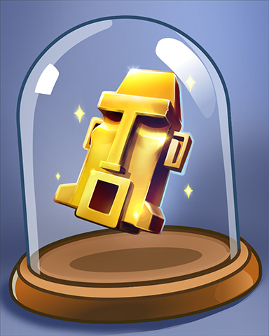 Golden Idol Badge - Undiscovered World