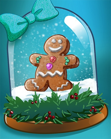 Gingerbread Time Badge - Winter Wonderland