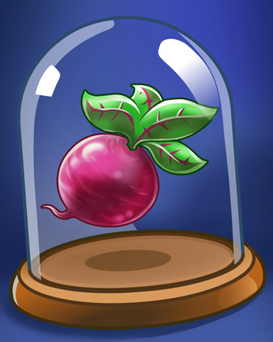 Terrific Turnip Badge - Word Whomp HD